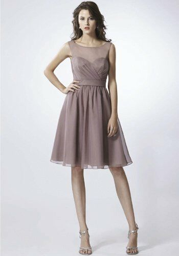 Saison Blanche Bridesmaids SB2263 Bateau Bridesmaid Dress