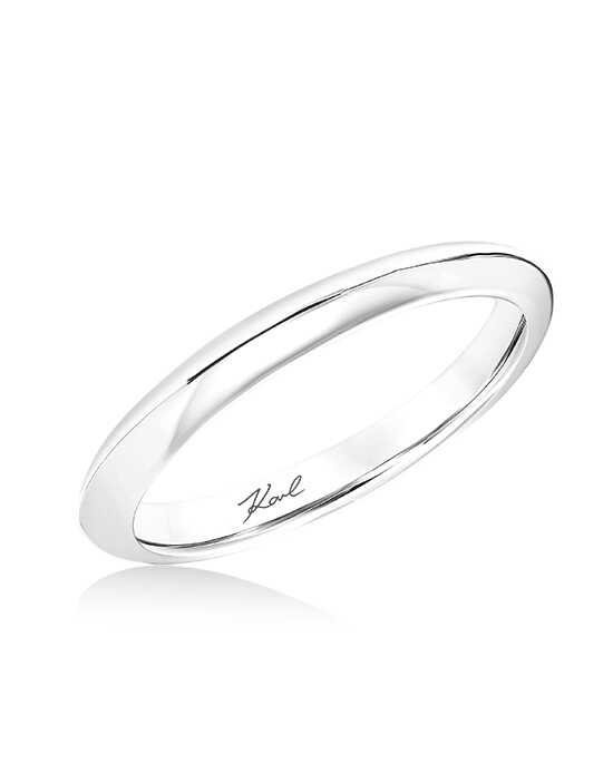 KARL LAGERFELD 31-KA151P Gold, White Gold, Platinum Wedding Ring