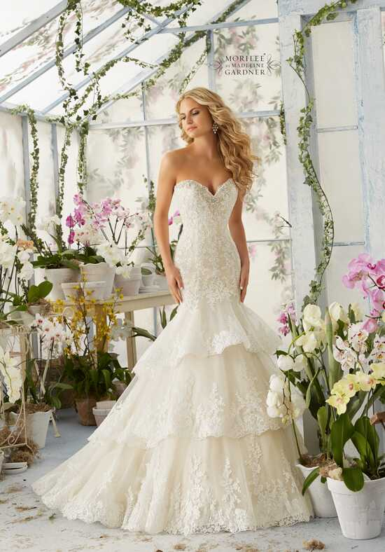 Morilee by Madeline Gardner 2810 Mermaid Wedding Dress