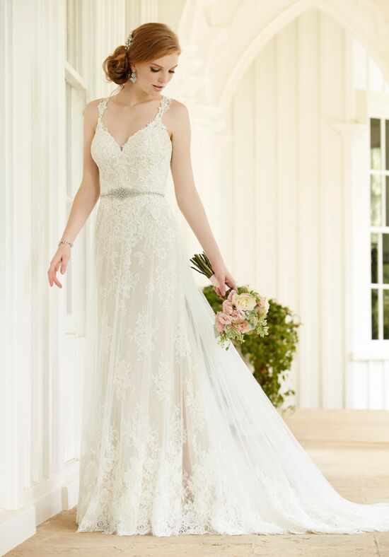 Martina Liana 745 Sheath Wedding Dress