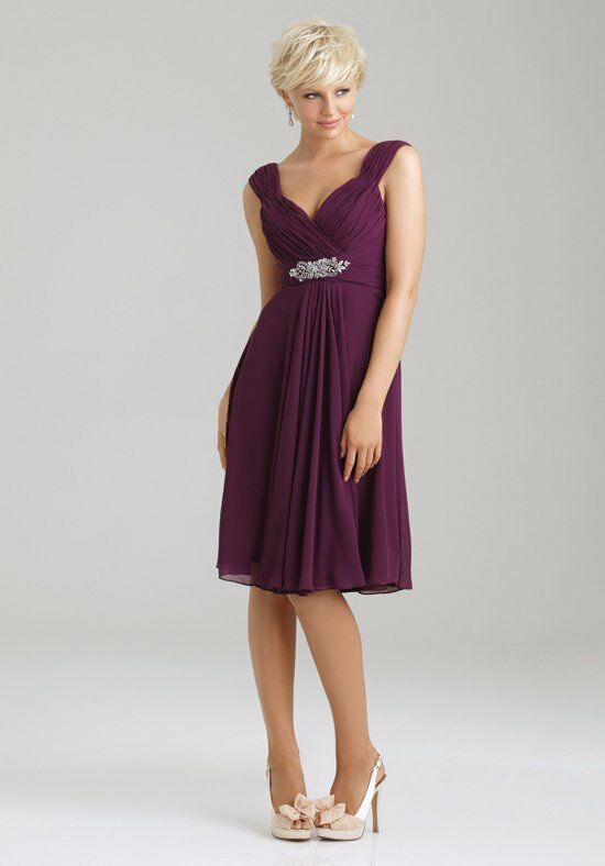 Allure Bridesmaids 1333 V-Neck Bridesmaid Dress