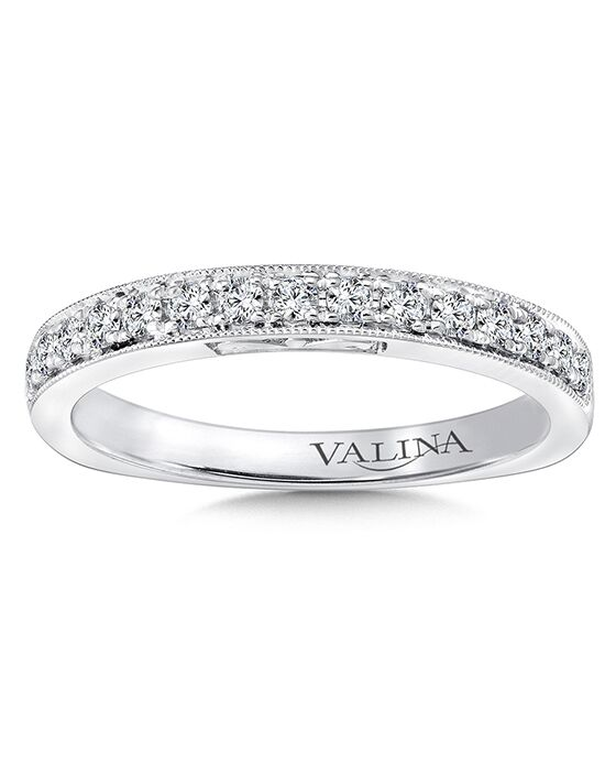 Valina R9665BW White Gold Wedding Ring