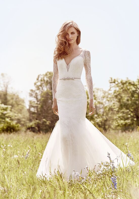 Jim Hjelm 8661 Sheath Wedding Dress
