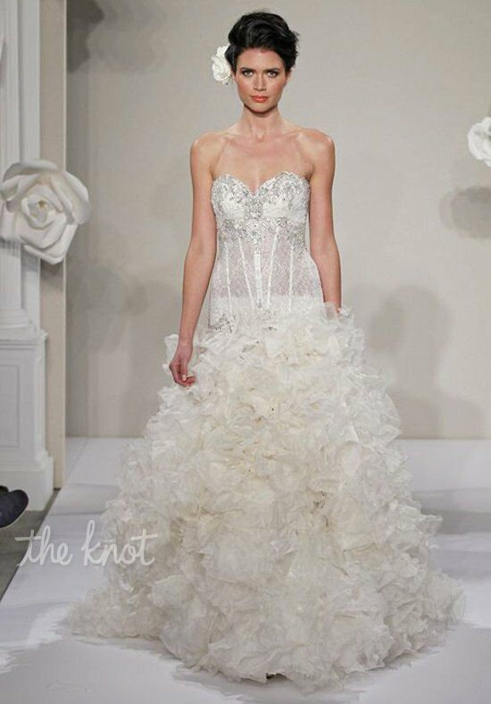Pnina Tornai for Kleinfeld 4214 A-Line Wedding Dress