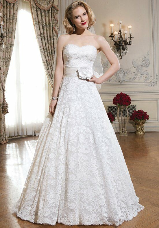 Justin Alexander 8557 A-Line Wedding Dress