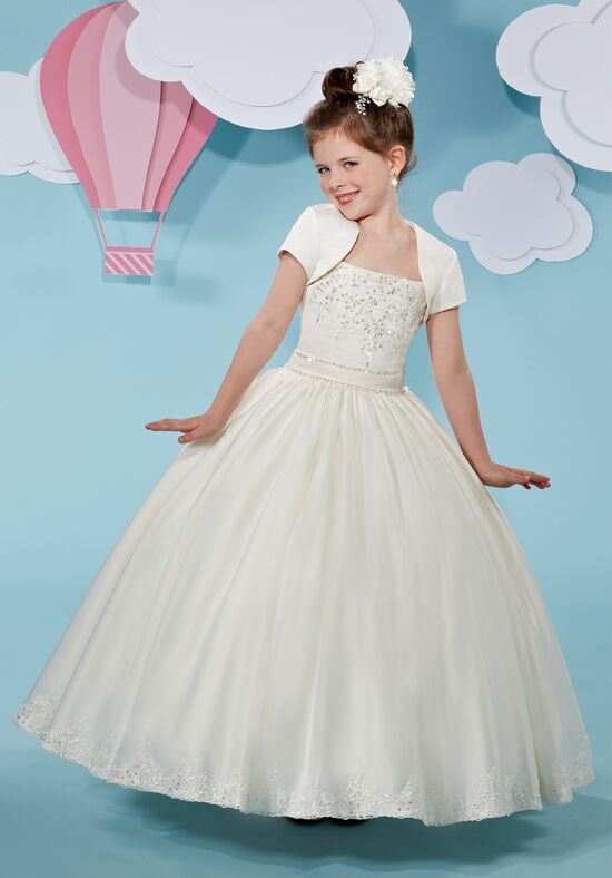 Cupids by Mary's F513 Ivory Flower Girl Dress