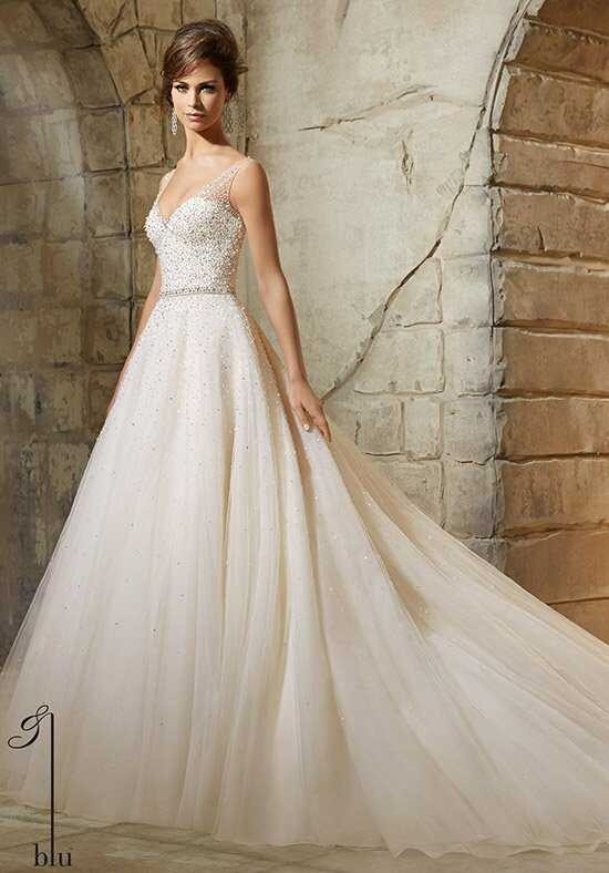 Morilee by Madeline Gardner/Blu 5376 Ball Gown Wedding Dress