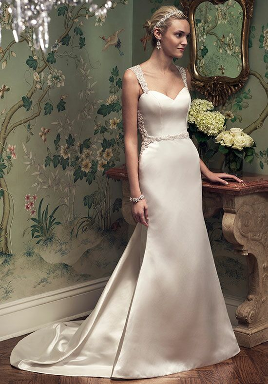 Casablanca Bridal 2218 A-Line Wedding Dress