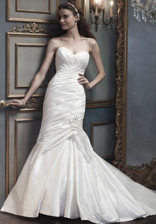 Amaré Couture by Crystal Richard B073 Mermaid Wedding Dress