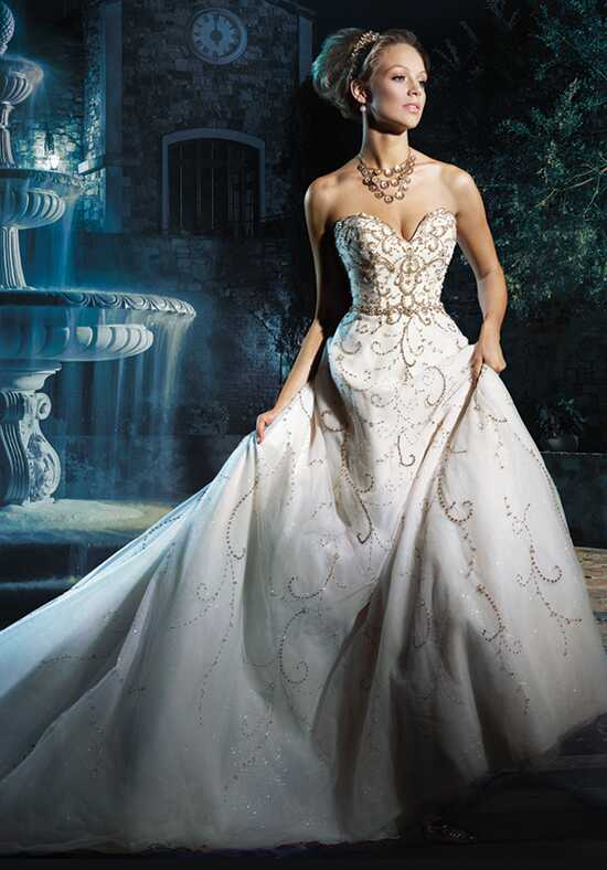 Alfred Angelo Disney Fairy Tale Weddings Bridal Collection 262 Cinderella A-Line Wedding Dress