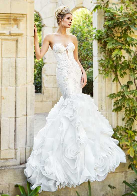 Moonlight Couture H1358B Mermaid Wedding Dress