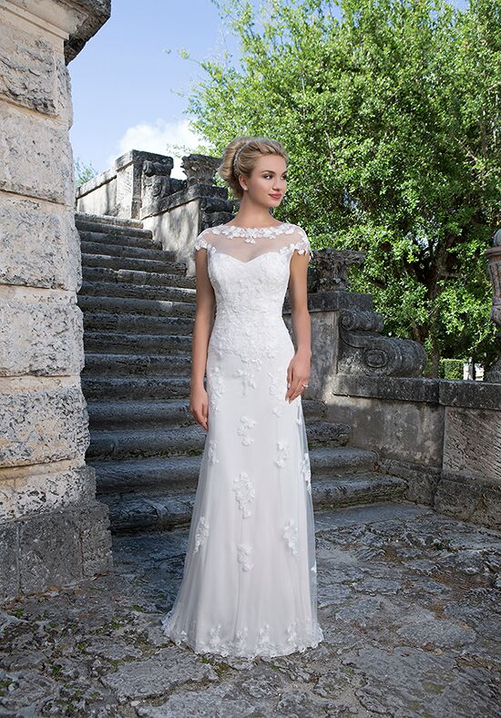 Sincerity Bridal 3880 Sheath Wedding Dress