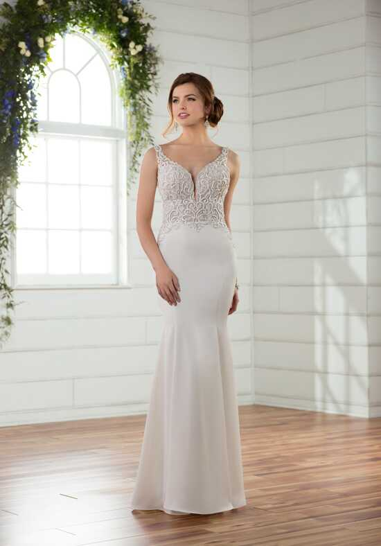 Essense of Australia D2394 Sheath Wedding Dress