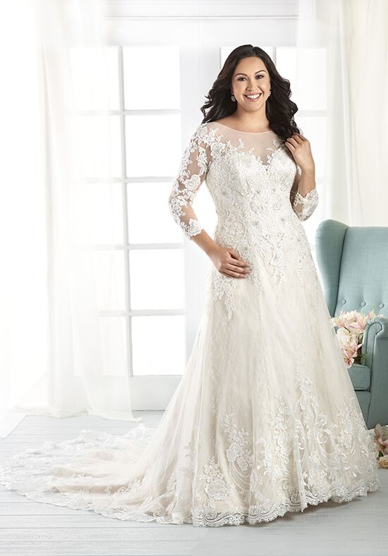 Unforgettable by Bonny Bridal 1806 A-Line Wedding Dress