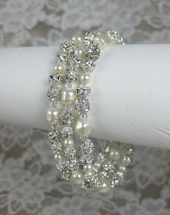 Everything Angelic Grace 3 Strand Bracelet - b152 Wedding Bracelet photo