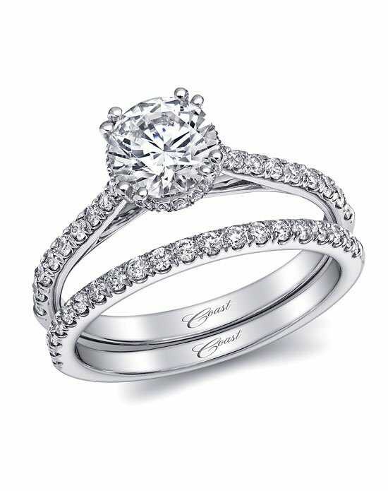 Coast Diamond Charisma Collection - LC5466 & WC5466 White Gold Wedding Ring