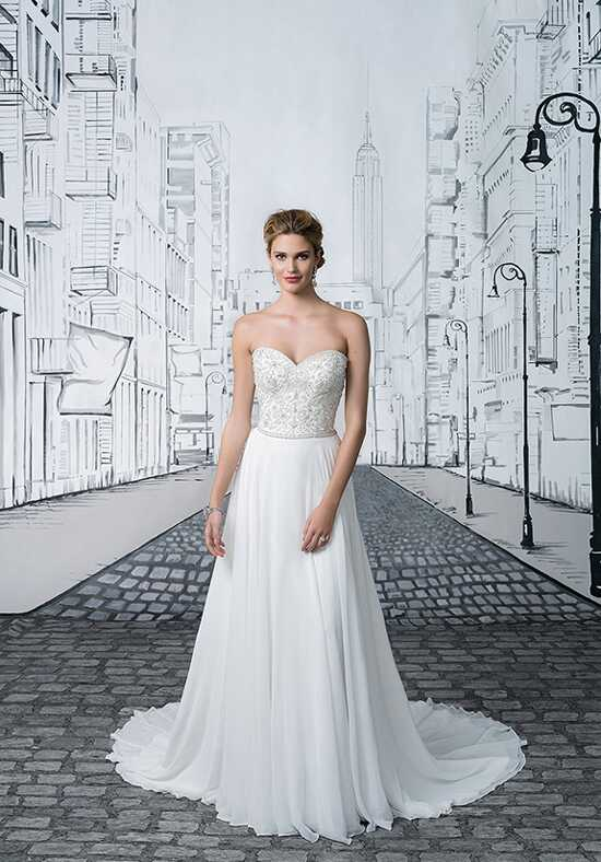 Justin Alexander 8895 A-Line Wedding Dress