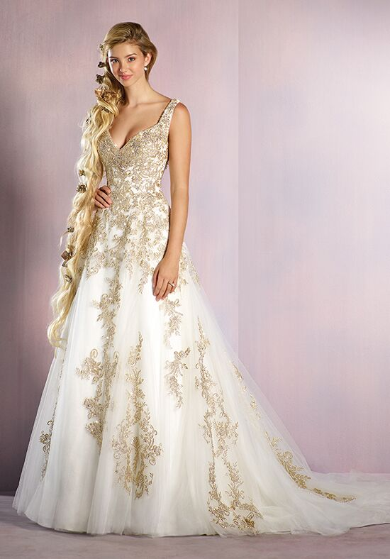 Alfred Angelo Disney Fairy Tale Weddings Bridal Collection 255 Rapunzel Wedding Dress