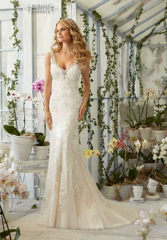 Morilee by Madeline Gardner 2809 Sheath Wedding Dress