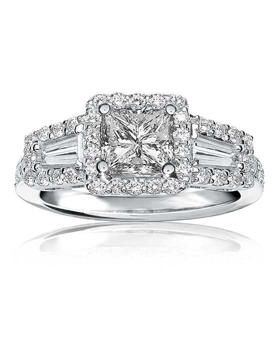 Rogers & Hollands® Glamorous Princess Cut Engagement Ring