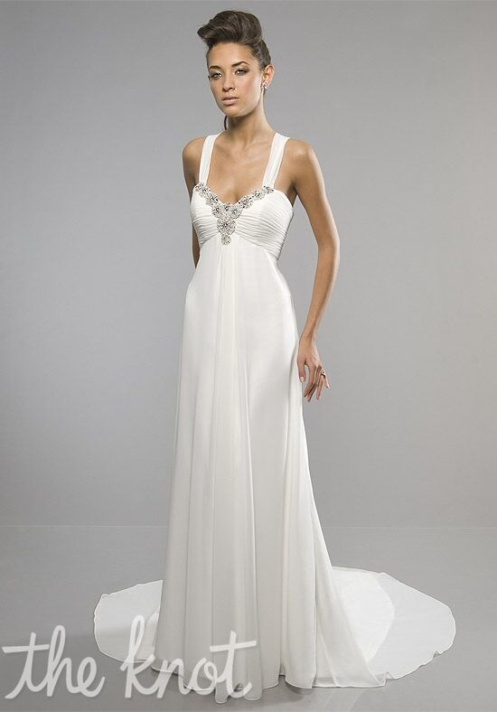Alfred sung bridals 7086 wedding dress the knot for How do you preserve a wedding dress