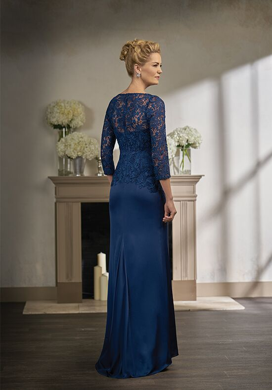 Jade Couture K198003 Blue Mother Of The Bride Dress