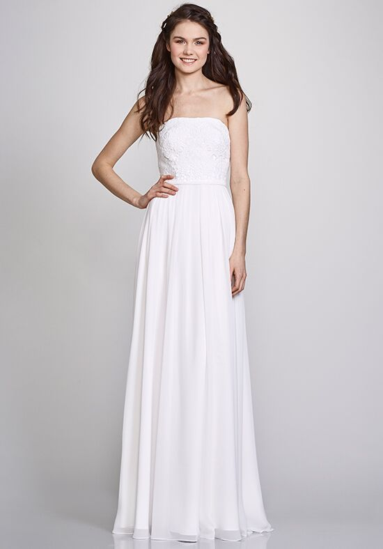 THEIA Bridesmaids Donna Strapless Bridesmaid Dress