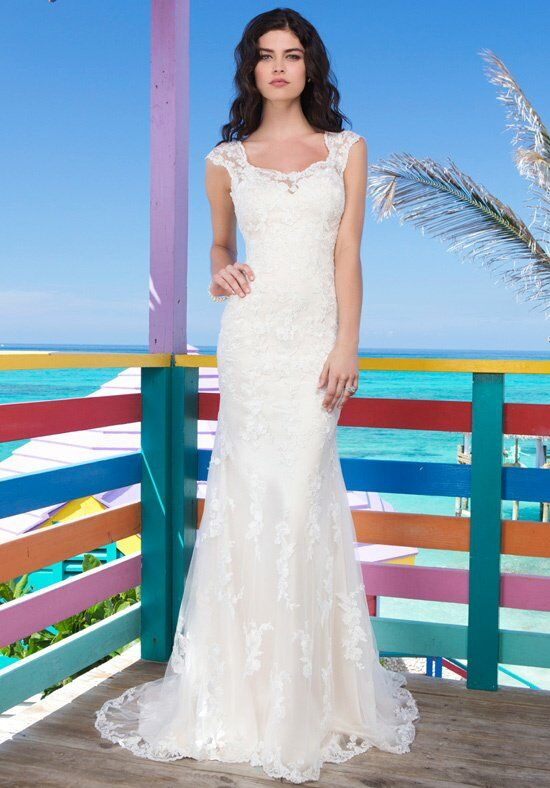 Sincerity Bridal 3785 Mermaid Wedding Dress