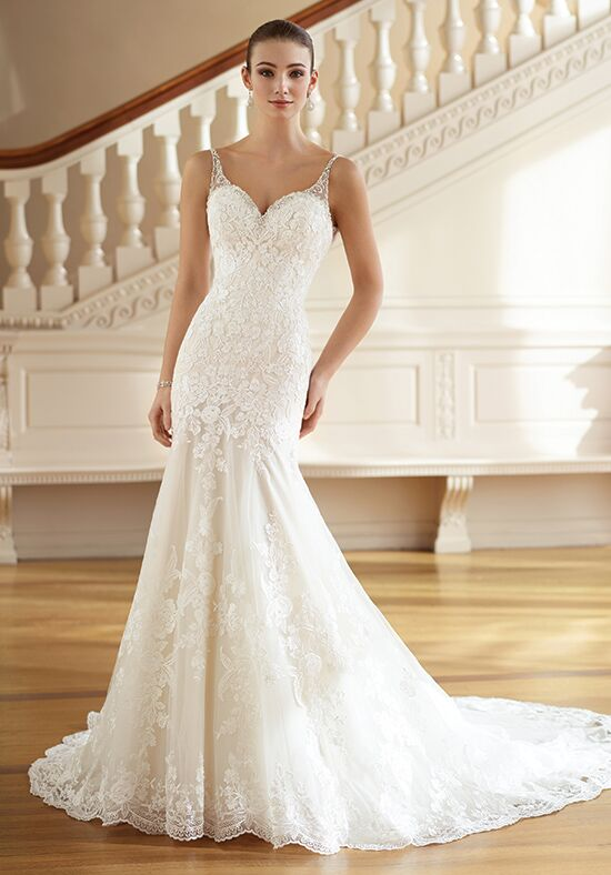 David Tutera For Mon Cheri 217223 Minnie Mermaid Wedding Dress