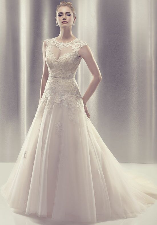 Amaré Couture by Crystal Richard B085 A-Line Wedding Dress
