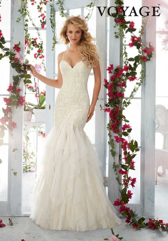 Morilee by Madeline Gardner/Voyage 6813 Mermaid Wedding Dress