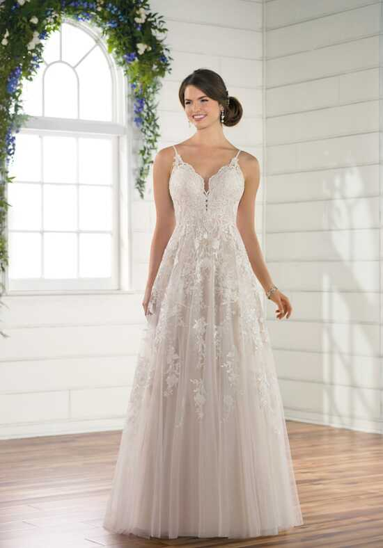 Essense of Australia D2453 A-Line Wedding Dress