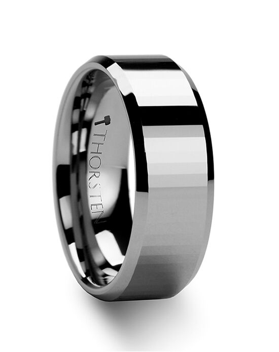 Mens Tungsten Wedding Bands F1017 Wedding Ring The Knot