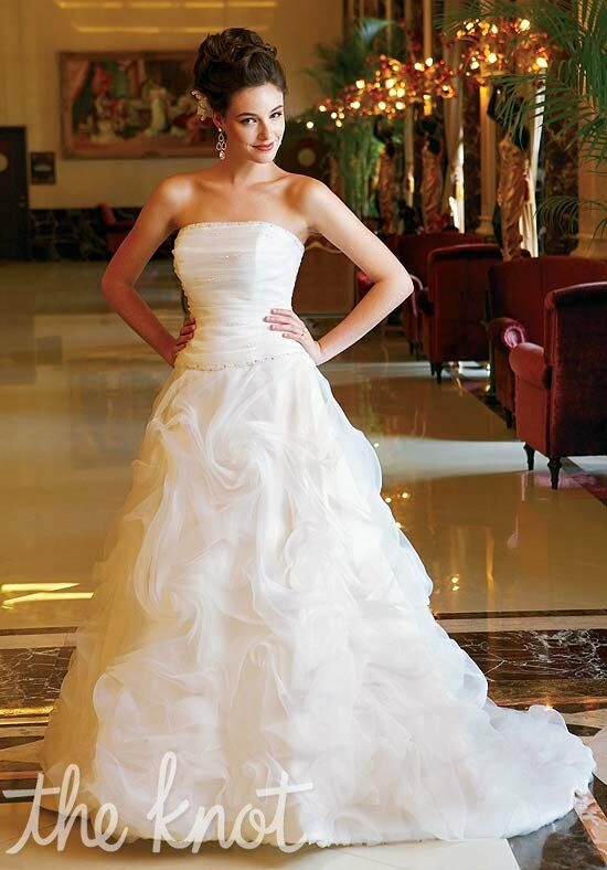 Jasmine Collection F322 A-Line Wedding Dress