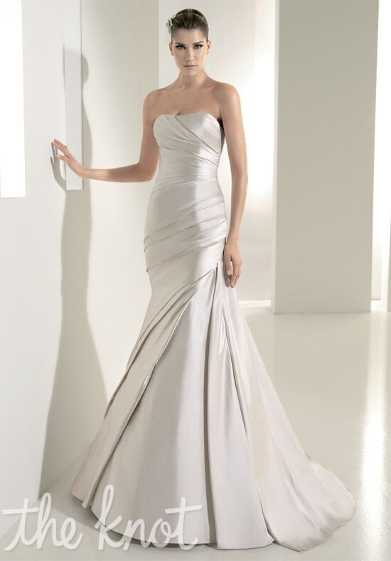 WHITE ONE 411 Mermaid Wedding Dress