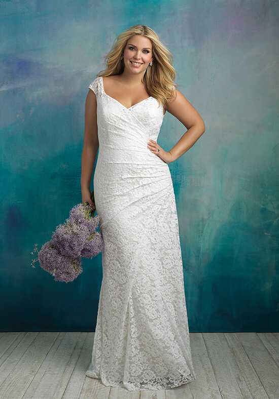 Allure Bridals W414 Sheath Wedding Dress