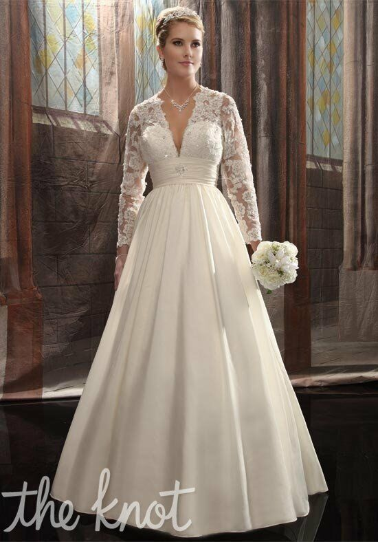 1 Wedding by Mary's Bridal 5600 A-Line Wedding Dress
