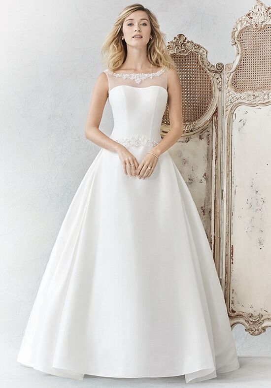 Kenneth Winston: Ella Rosa Collection BE364 Ball Gown Wedding Dress