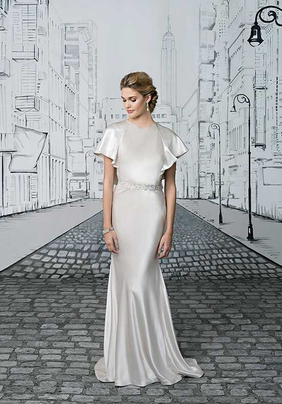 Justin Alexander 8875 Sheath Wedding Dress