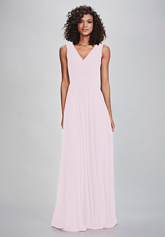 THEIA Bridesmaids Siena V-Neck Bridesmaid Dress