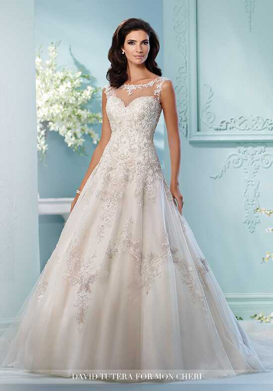 David Tutera for Mon Cheri 216250 Lapis A-Line Wedding Dress