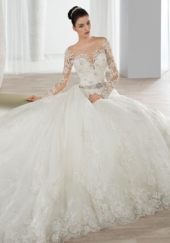 Demetrios 648 Ball Gown Wedding Dress