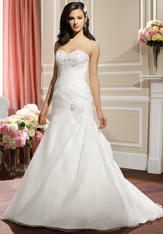 Moonlight collection j6315 wedding dress the knot for How do you preserve a wedding dress