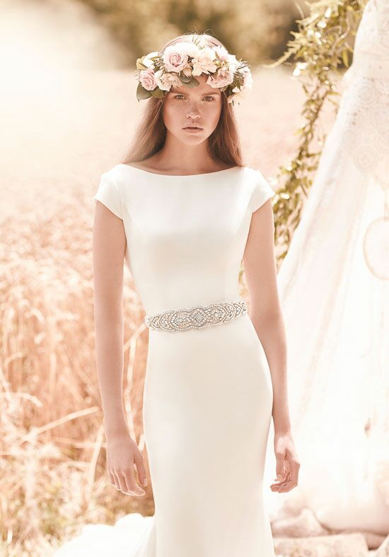 Mikaella 2061 Sheath Wedding Dress