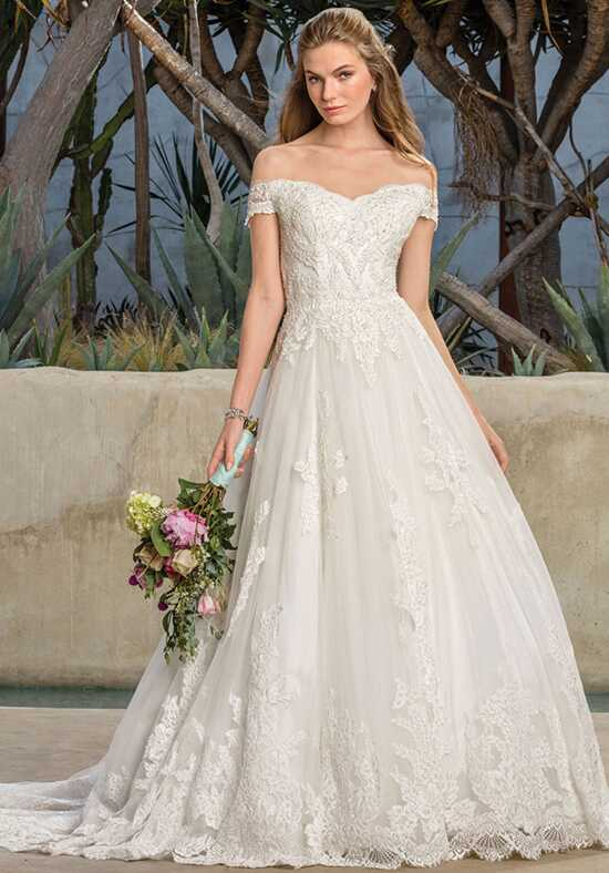 Off the shoulder wedding dresses casablanca bridal junglespirit Image collections