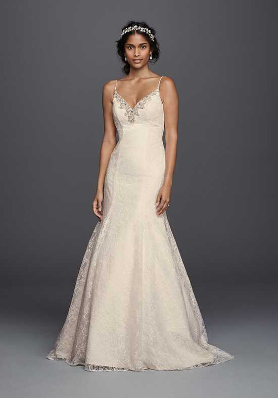 David's Bridal Jewel Style V3801 Mermaid Wedding Dress