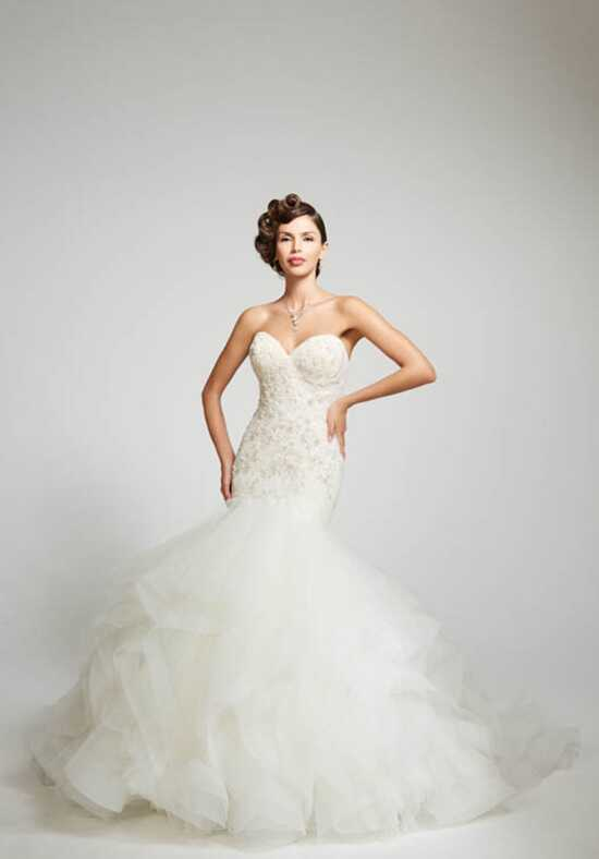 Matthew Christopher Adriana Mermaid Wedding Dress