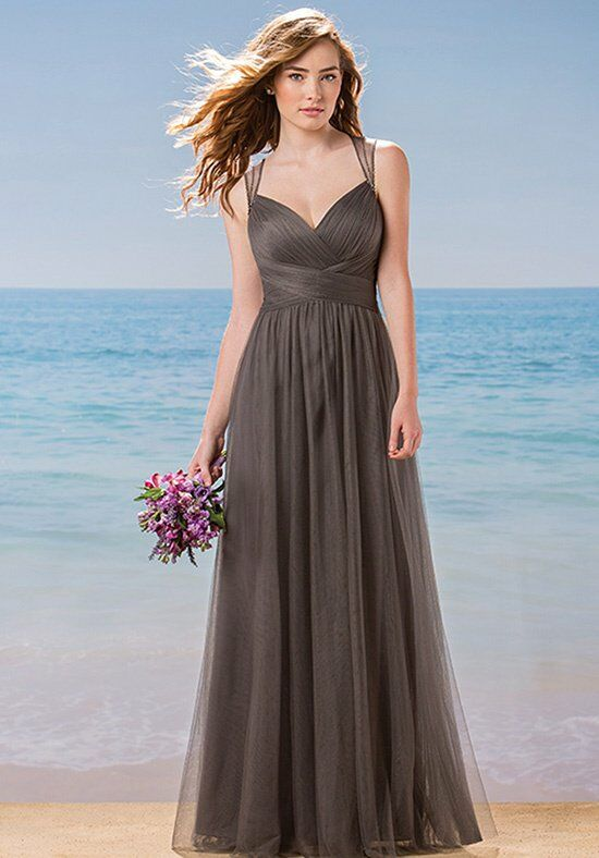 Belsoie L184002 V-Neck Bridesmaid Dress