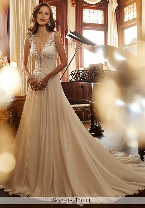 Sophia Tolli Y11717 Yvette A-Line Wedding Dress