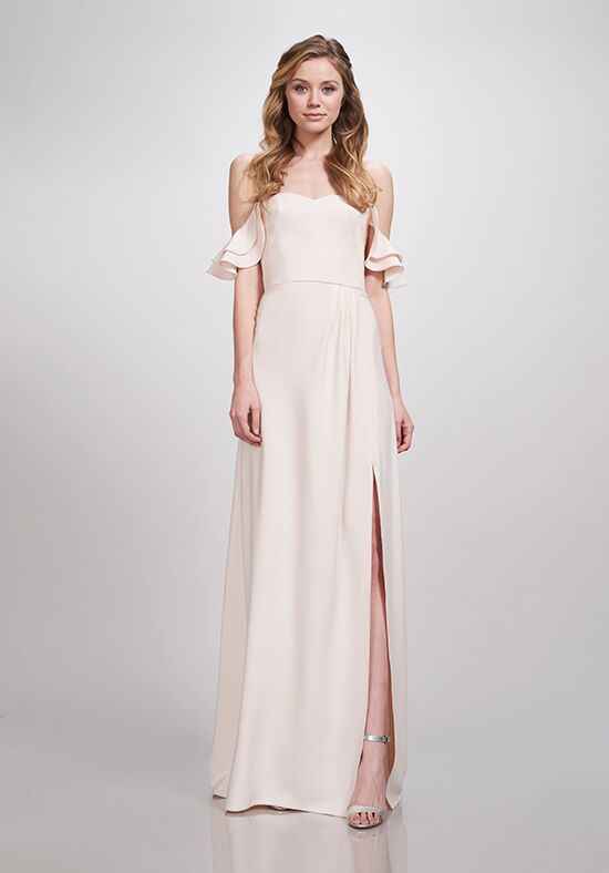 THEIA Bridesmaids Brooklyn Off the Shoulder Bridesmaid Dress